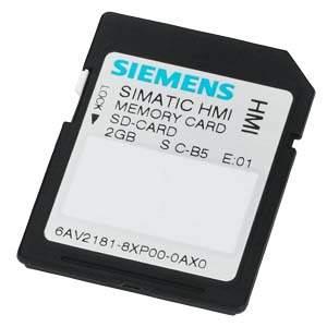 6AV2181-8XP00-0AX0 SIMATIC SD MEMORY CARD 2GB