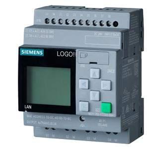 6ED1052-1CC08-0BA1 LOGO! 24V/24V/24V 8DI(4AI)/4DQ