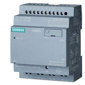 6ED1052-2CC08-0BA1 LOGO! 24V/24V/24V 8DI(4AI)/4DQ