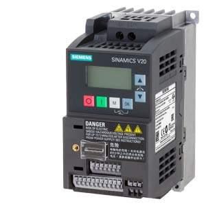 6SL3210-5BB17-5UV1 V20 0.75 kW 1AC