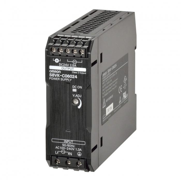 OMRON S8VK-C06024 24VDC 2,5A POWER SUPPLY