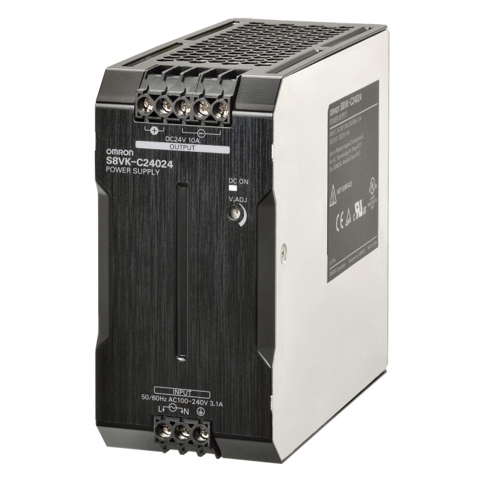 OMRON S8VK-C12024 24VDC 5A POWER SUPPLY