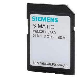 6ES7954-8LF03-0AA0 S7-1x00 MEMORY CARD 24 MB