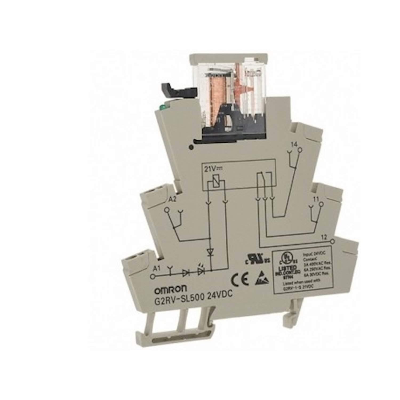 OMRON G2RV-SL700 SLİM RÖLE24VDC VİDALI BAĞLANTI