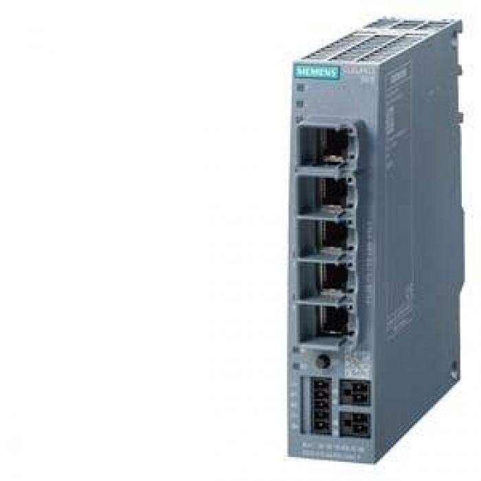 6GK5615-0AA00-2AA2 SCALANCE S615 LAN ROUTER; FOR PROTECTİON OF DEVİCES/NETWORKS İN AUTOMATİON TECHNOLOGY AND FOR PROTECTİON OF İNDUSTRİAL COMMUNİC