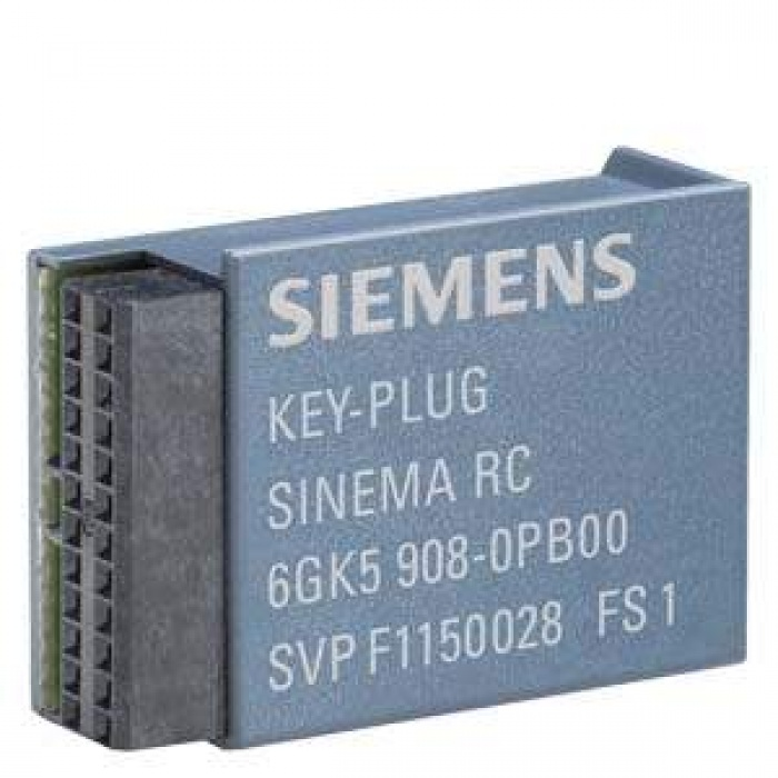6GK5908-0PB00 KEY-PLUG SINEMA RC, REMOVABLE DATA STORAGE MEDİUM FOR ENABLİNG OF THE CONNECTİON TO SINEMA REMOTE CONNECT FOR S615 AND SCALANCE