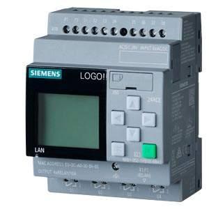 6ED1052-1HB08-0BA1 LOGO! 24VAC/DC 24V/RELAY 8DI/4DQ