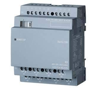 6ED1055-1FB10-0BA2 LOGO! DM16 230R expansion module, PS/I/O: 230V/230