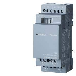6ED1055-1HB00-0BA2 LOGO! DM8 24V/24V/RELAY 4DI/4DQ AC/DC/NPN