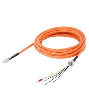 6FX3002-5CK01-1CA0 POWER CABLE PRE-ASSEMBLED DMAX=7.1MM LENGTH 20M